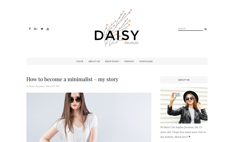 Template Menarik Buat Kamu Yang Mau Jadi Blogger